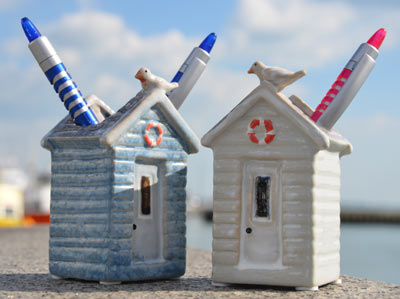 Beach Huts And Hut Accessories In The Uk Coastal Decor Models T Lights Toy Nautical Light