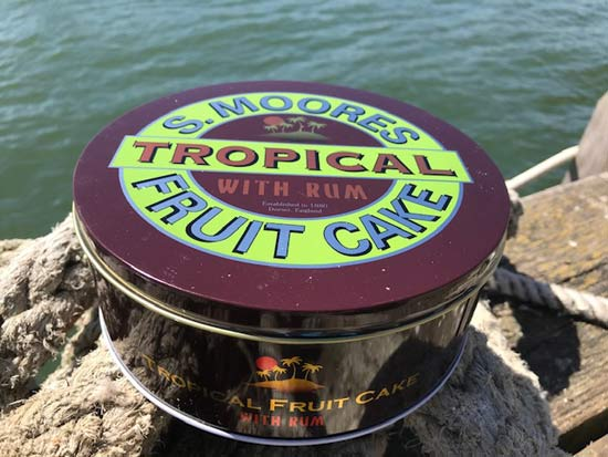 Moores Tropical Fruit Cake with Rum