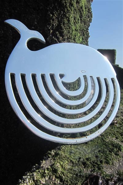 Whale kitchen trivet