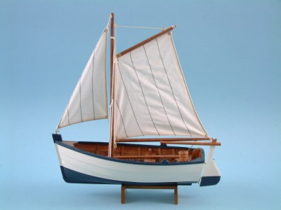 Model Sailing Boat with Oars